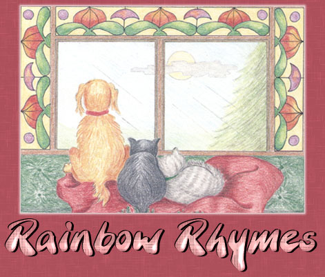 Rainbow Colors - Nursery Poems in English.